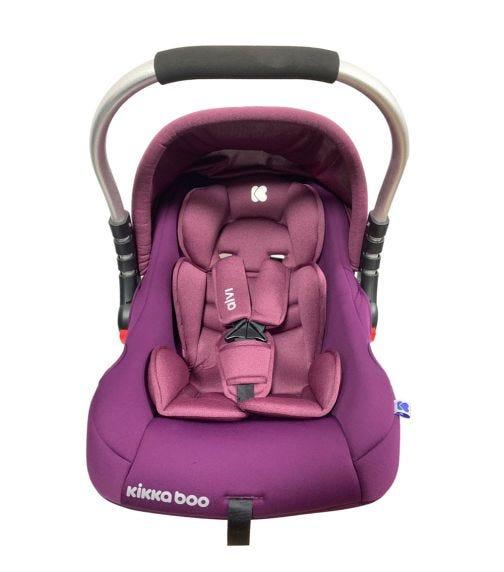 KIKKABOO Car Seat 0+ (0-13 KG) Alvi - Purple