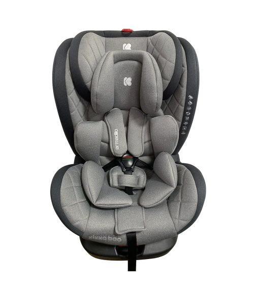 KIKKABOO Car Seat 0-1-2-3 (0-36 KG) Armadillo - Grey