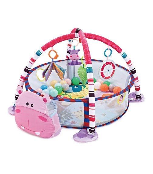 KIKKABOO Playmat With 30 Balls - Hippo
