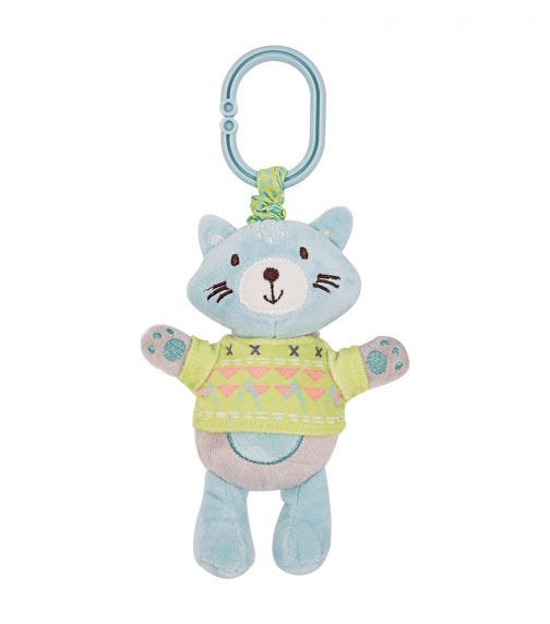 KIKKABOO Cat Vibrating Toy With Bell