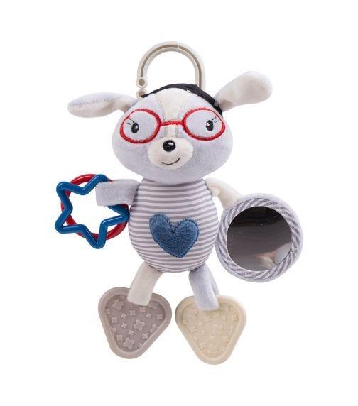 KIKKABOO Love Rome Activity Toy - Blue Heart