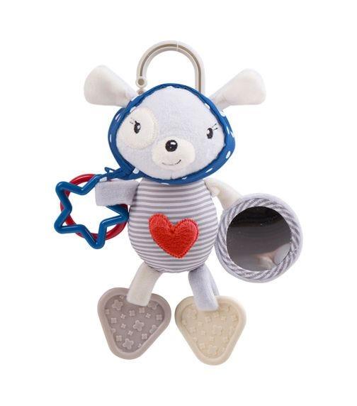 KIKKABOO Love Rome Activity Toy - Red Heart
