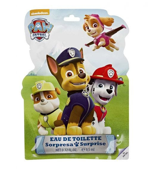AIRVAL Paw PatrolSurprise Bag EDT 9.5 ML