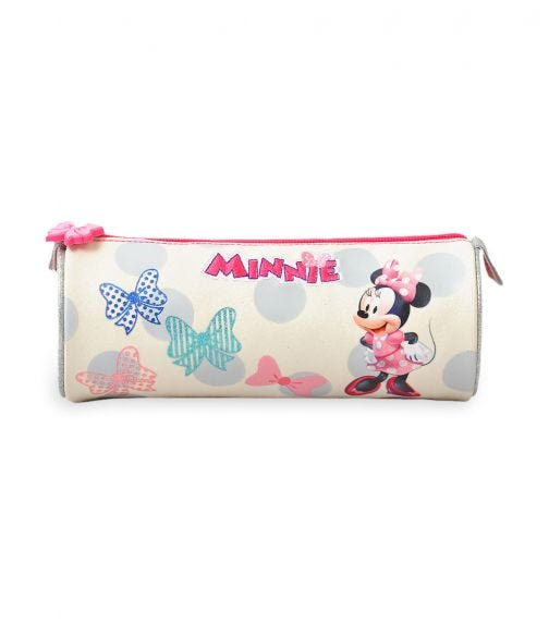 MINNIE Proud To Me Round Pencil Case