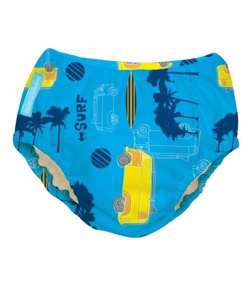 CHARLIE BANANA Reusable Swim Diaper (Large) - Malibu