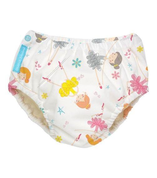 CHARLIE BANANA 2 In 1 Swim Diaper (Medium) Training Pants - Diva Ballerina