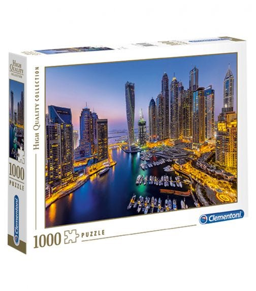 CLEMENTONI The Beautiful Dubai 1000 Pieces