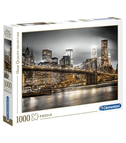 CLEMENTONI Puzzle The New York Skyline 1000 Pieces