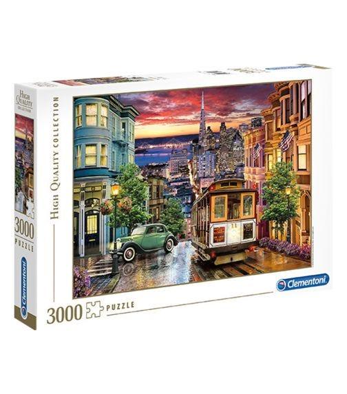 CLEMENTONI The San Francisco 3000 Pieces