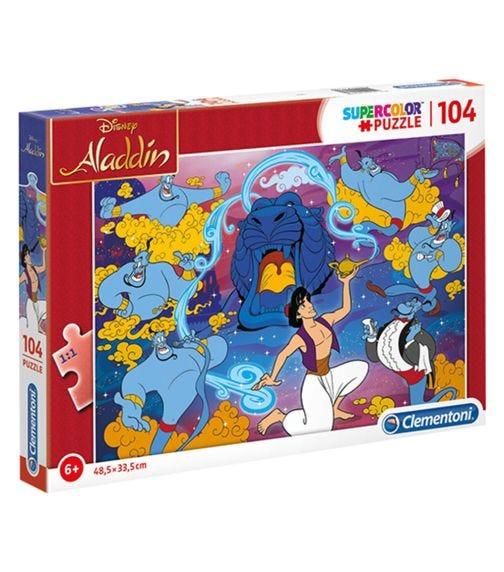 CLEMENTONI Super Puzzle Disney Aladdin 104 Pieces