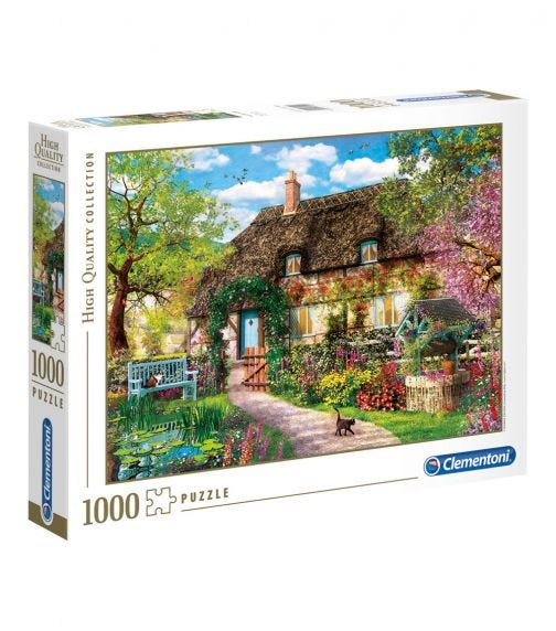 CLEMENTONI The Old Cottage 1000 Pieces