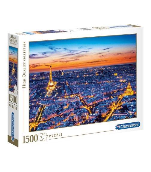 CLEMENTONI Sky View Of Paris 1500 Pieces
