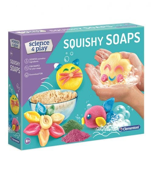 CLEMENTONI Squishy Soaps (UK)