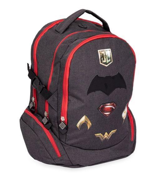 JUSTICE LEAGUE Logos Black Backpack