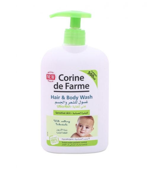 CORIN DE FARME Baby Ultra Hair And Body Wash 500 ML