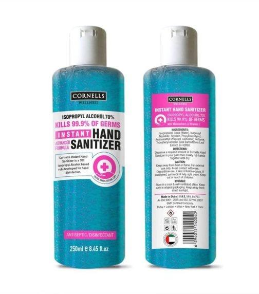 CORNELLS Instant Hand Sanitizer 250 ML