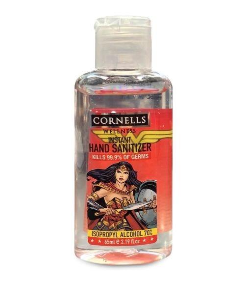 CORNELLS Wonder Woman Instant Hand Sanitizer Gel 65 ML