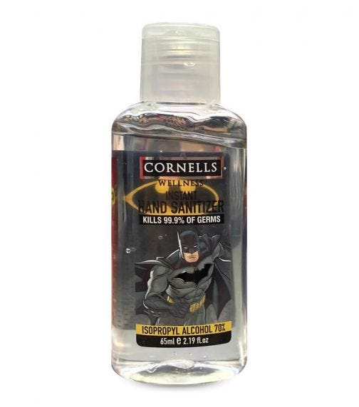 CORNELLS Batman Instant Hand Sanitizer Gel 65 ML