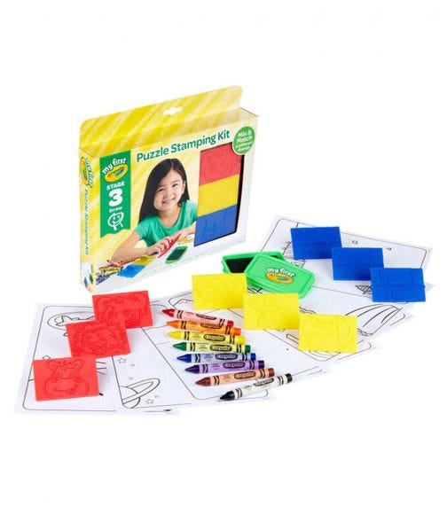 CRAYOLA My First Crayola Puzzle Stampers Stage 3