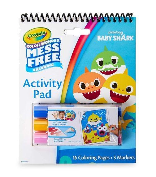CRAYOLA Color Wonder Activity Pad Baby Shark