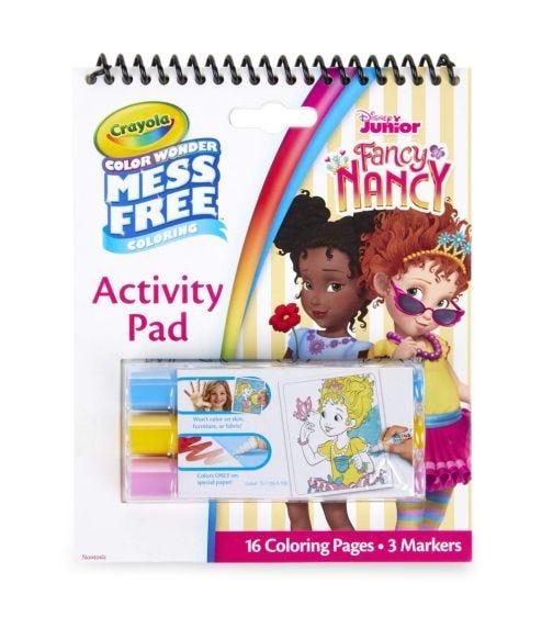 CRAYOLA Color Wonder Activity Pad Fancy Nancy
