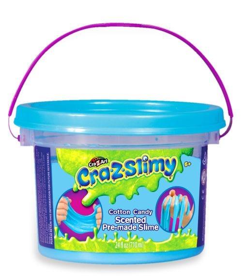 CRAZ SLIMY Scented Premade Tub 24 Oz Assorted