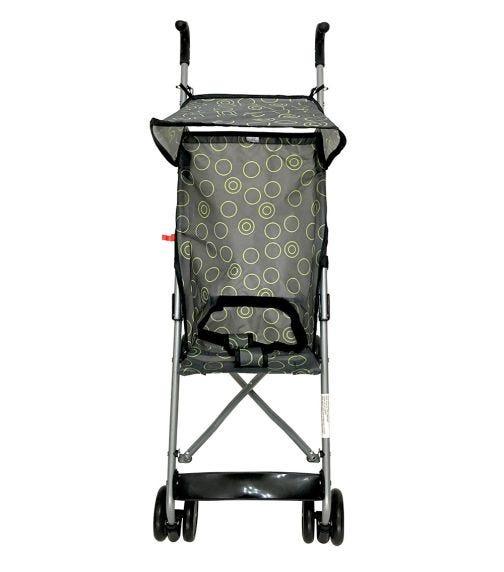 CUDDLES Buggy With Canopy Dark Grey