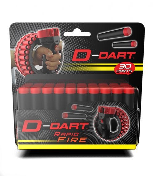D-DART Refill Pack Of 30 Suction Cup