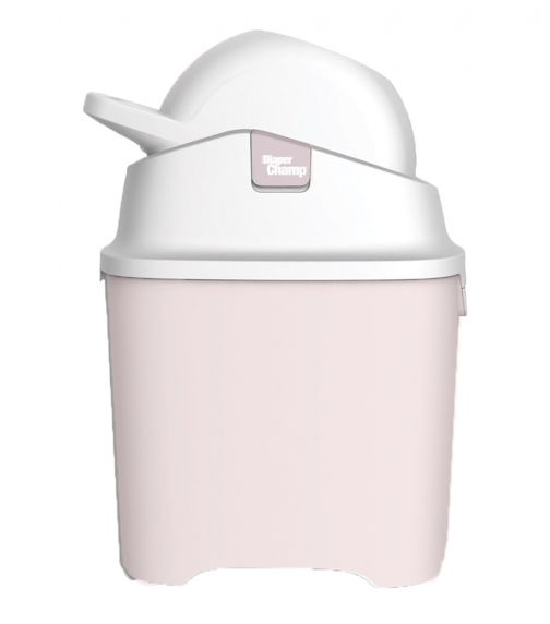DIAPER CHAMP ONE  Standard Old Pink - Odorless Diaper Pail