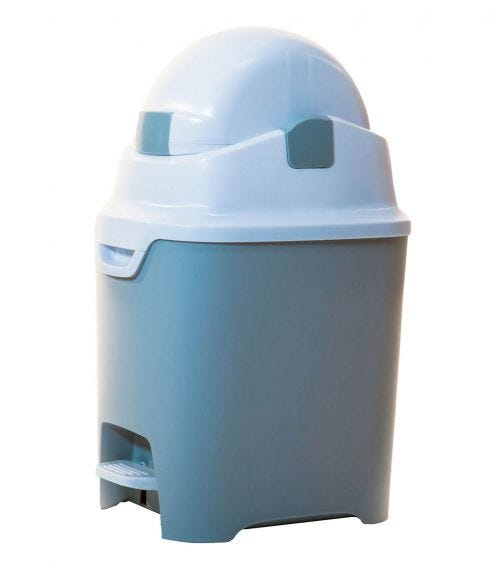 DIAPER CHAMP ONE  Standard Hands-Free - Odorless Diaper Pail