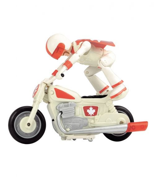 DICKIE Toy Story Duke Caboom Motorcycle Arc 1:24