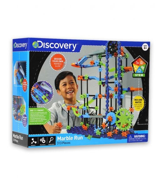DISCOVERY - Marble Run 321 Pieces