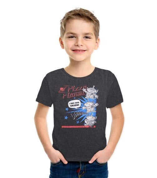 DISNEY Toy Story Boys T-shirt Dark Grey Melange