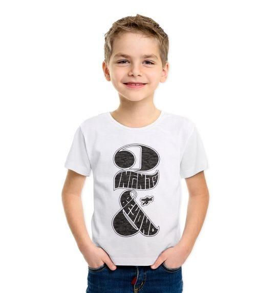 DISNEY  Toy Story Boys T-shirt Dark White