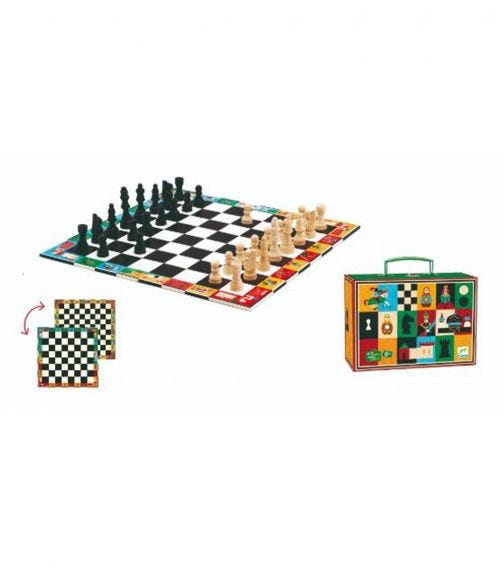 DJECO Chess And Draughts Game