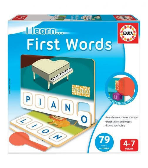 EDUCA Puzzles First Words