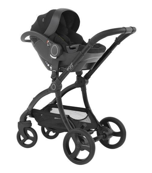 EGG Infant I-Size Car Seat Just Black