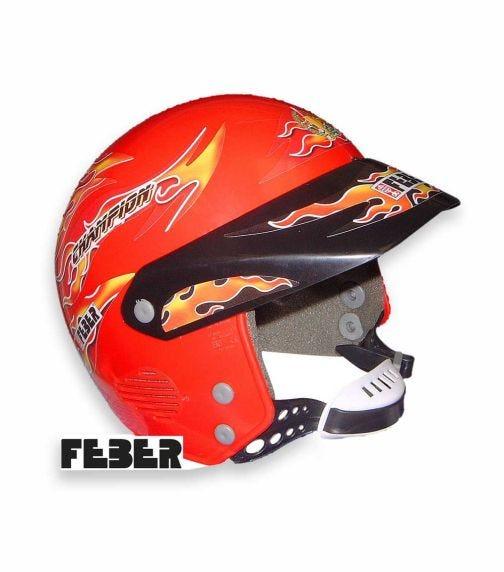 FEBER Ride-On Helmet Red
