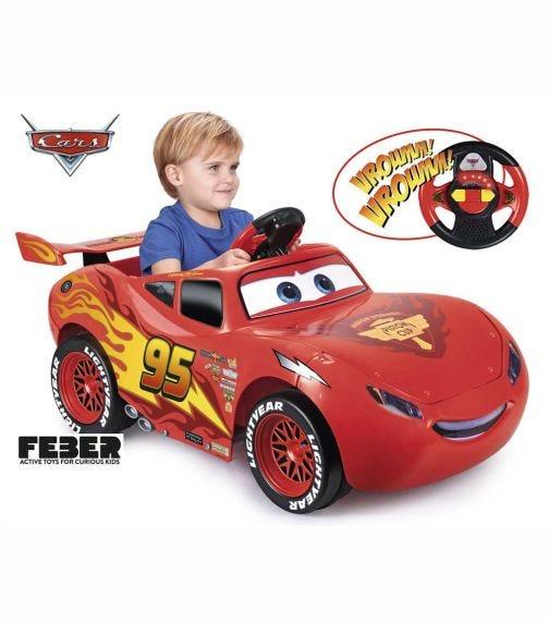 FEBER Ride-On Cars McQueen  Lights & Sounds 6V