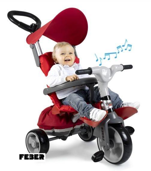 FEBER Trike Baby Plus Music Prime