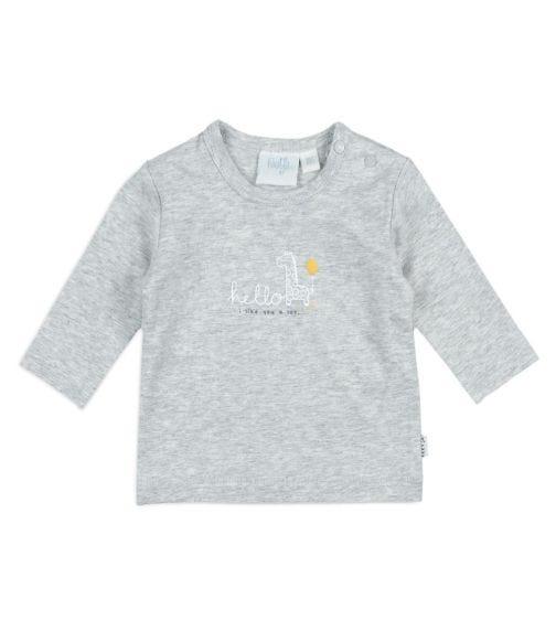 FEETJE Long-Sleeved Hello Sunshine T-shirt - Giraffe