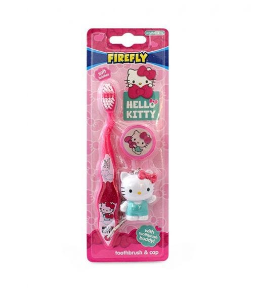 FIREFLY Hello Kitty Toothbrush With Cap & Toy