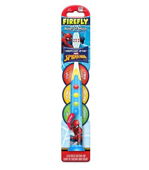 FIREFLY Marvel Spider-Man Ready Go Light-Up Timer Toothbrush