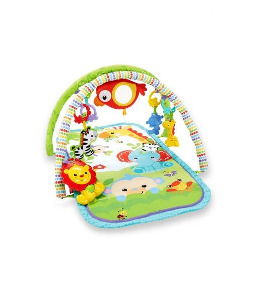FISHER PRICE 3 In 1 Musical Rainforest Activity Gym