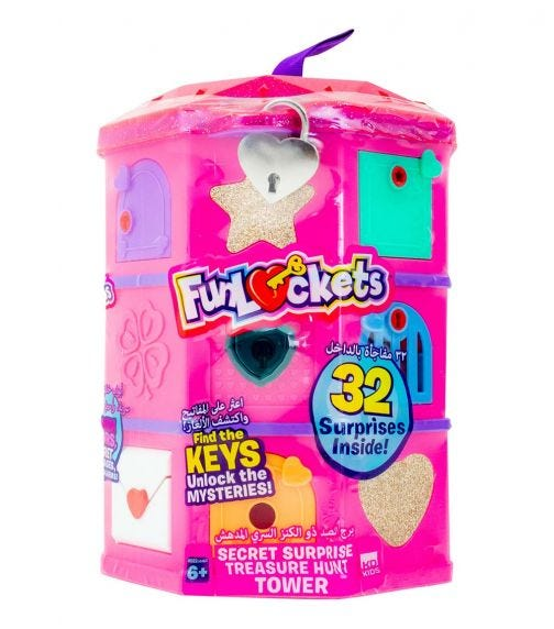 FUNLOCKETS Secret Treasure Hunt Megabox