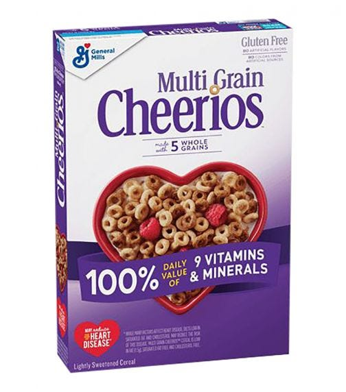 GENERAL MILLS Multi Grain Cheerios Cereal - 255 G
