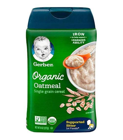 GERBER 1st Foods Organic Oatmeal Single Grain 227 G
