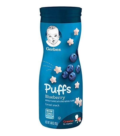 GERBER Puffs Blueberry 42 G