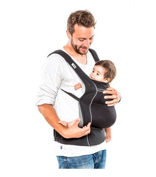 HAUCK Close To Me Carrier  - Black