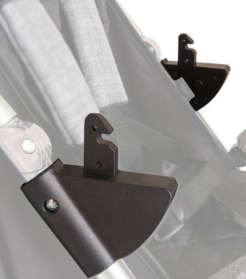 HAUCK Vegas Car Seat Adapter - Black